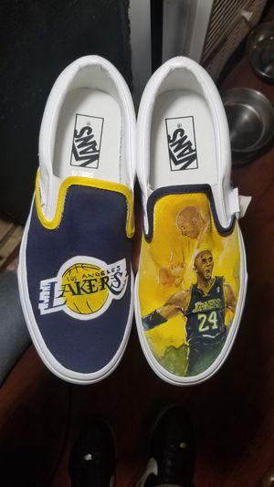 "kobe bryant custom ""vans"" brand canvas shoe for Sale in Downey, CA"
