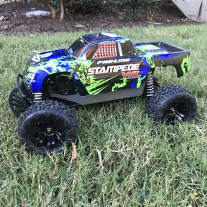 Traxxas Stampede 4x4 VXL fully rebuilt with brand new parts! for Sale in Chesapeake, VA