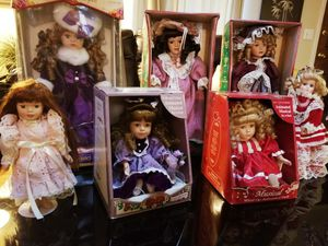 Antique Porcelain Fine Bisque Doll Collection for Sale in Vancouver, WA