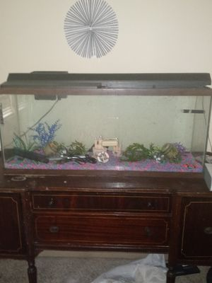 Fish tank and buffet for Sale in Williamsport, PA