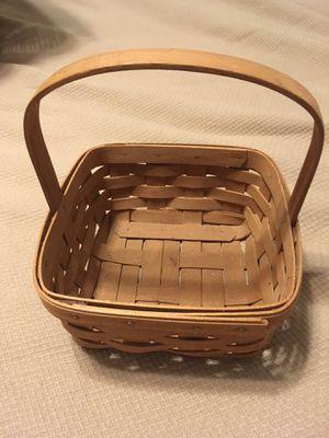 Longaberger Basket 1988 Square for Sale in Houston, TX