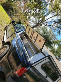 8 ft camper with 2 toolboxes built in for Sale in San Leon,  TX