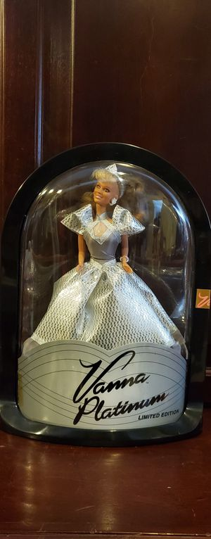 Vanna platinum limited edition barbie doll for Sale in Cooper City, FL