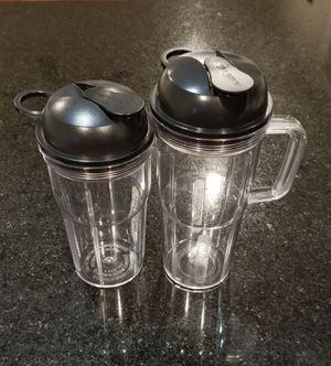 Nutribullet Cups w/lids for Sale in Chicago, IL