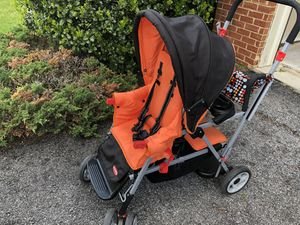 Joovy Double Stroller with insulates stroller holder for Sale in Fort Washington, MD