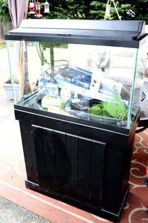 30gal fish tank with Accessories for Sale in Kent, WA
