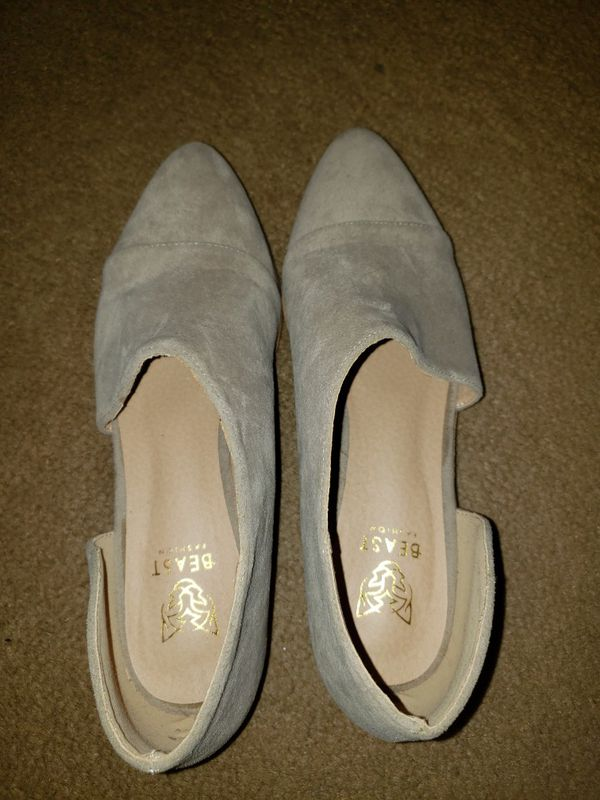 Gray shoes