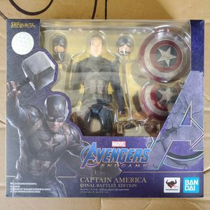 Sh Figuarts Avengers Endgame Captain America for Sale in Long Beach, CA