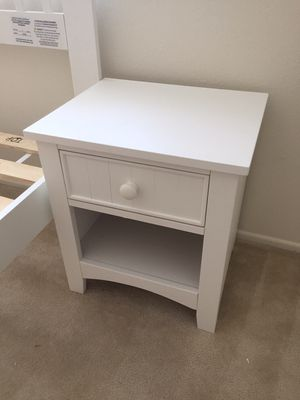 Nightstand, #CM7905WH for Sale in Downey, CA