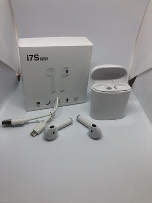 White I7s twn Bluetooth wireless headphones earbuds audifonos for sale * Shipping only ** for Sale in Denver, CO