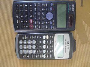 Graphing calculator BAII plus cadio fx-300es for Sale in Vestal, NY