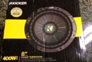 "New! Kicker CompS 8"" Subwoofer 40CWS84 for Sale in San Francisco, CA"