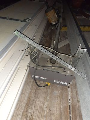 16x7 garage door with craftsman 1/2 hp opener for Sale in NEW PRT RCHY, FL