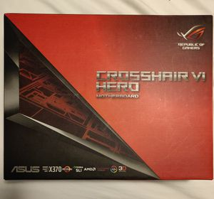 ASUS ROG CROSSHAIR VI HERO X370 MotherBoard for Sale in Arlington, VA