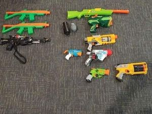 Nerf guns and toy guns for Sale in London, OH