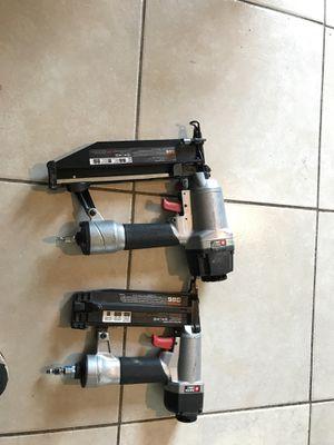 Finish nail gun porter cable for Sale in Phoenix, AZ