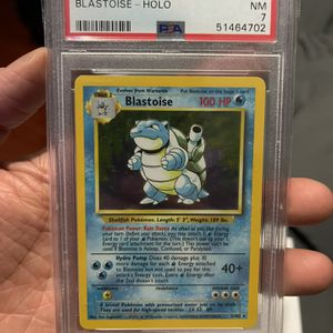 Pokemon Base Set Blastoise PSA 7 for Sale in Los Angeles, CA
