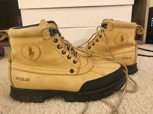 POLO SnowBoots NOT timberland supreme NMD yeezy air Jordan for Sale in Alexandria, VA