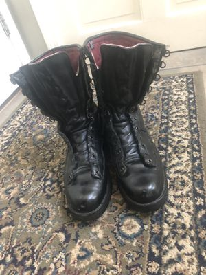 Black Tactical DANNER boots size 10-1/2 for Sale in Rutland, MA