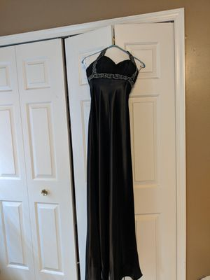 Black halter prom dress, size XS, with shawl for Sale in Herndon, VA