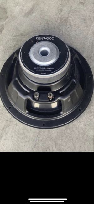 Kenwood Car Subwoofer Speaker KFC-W12PS 12 inches for Sale in Irvine, CA