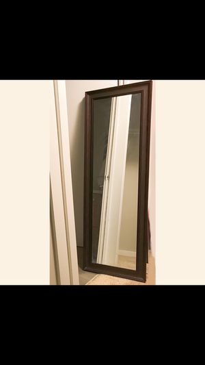 Full length Wood Framed wall mirror for Sale in San Francisco, CA