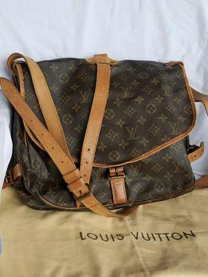 Auth Louis Vuitton Monogram saddle bag for Sale in Arlington, TX