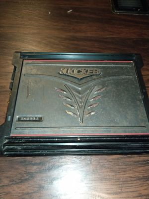 Kicker zx300.1 monoblock amp for Sale in Humble, TX