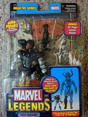 Marvel legends toy biz war machine for Sale in Houston, TX