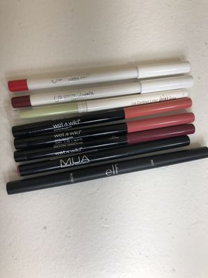 Cruelty free lip liner makeup beauty bundle - Colourpop and more! for Sale in San Diego, CA