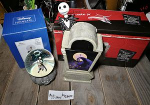 Nightmare Before Christmas snow globe and cookie jar for Sale in Nashville, TN