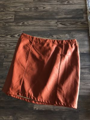 Forever21 Leather Skirt Size Large for Sale in Dallas, TX