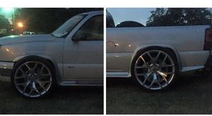 """06 Chevy Silverado on 26"""" Replica w/ tires $13,000... Obo for Sale in Lafayette, LA"""