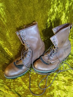 John Deere Brown Leather Work Boots Men's Size 11 for Sale in Portland, OR