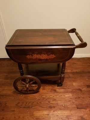 Beautiful Rare Vintage Serving Cart/Table .. Delivery Available !! for Sale for sale  Brooklyn, NY