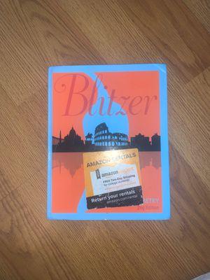 Blitzer Trigonometry 2nd Edition for Sale in Mesa, AZ