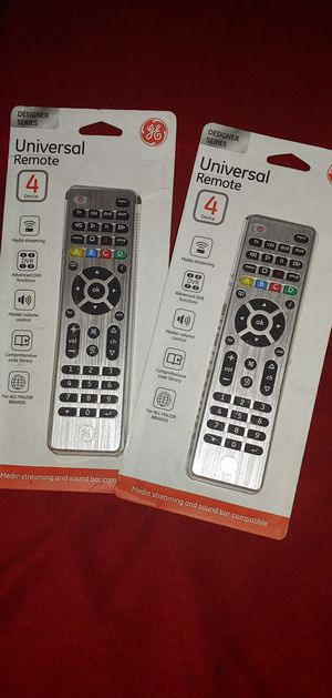 New! Universal Remote for 4 devices for Sale in Los Angeles, CA