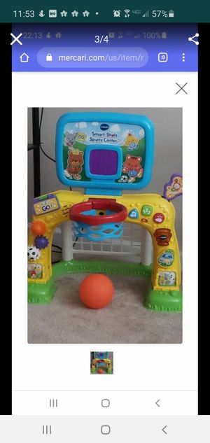 Vtech play game basketball for kids for Sale in Tustin, CA