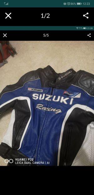Suzuki motorcycle racing jacket for Sale in Phoenix, AZ