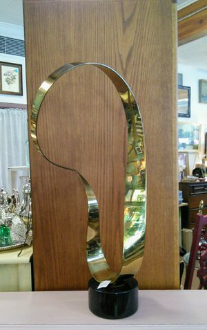 Curtis Jere Brass Ribbon Sculpture (c) 1970's for Sale in Canby, OR