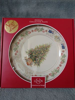 Lenox Collector Plate. Christmas 2017 for Sale in Derwood, MD