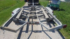 Dual axle tandem boat trailer for Sale in Cable, OH