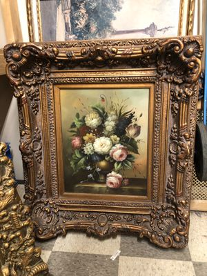 Vintage Flower picture frame for Sale in Queens, NY