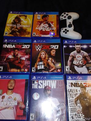 PS4 (Games) & 1 Controller 40$ each for Sale in Hayward, CA