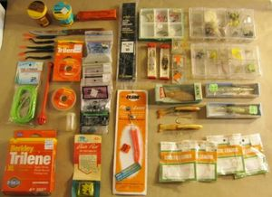Fishing Tackle 200+ Pieces or Trade for Sale in Los Angeles, CA