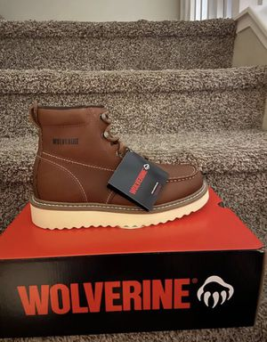 Wolverine Safety Toe Work Boots/Botas de trabajo Wolverine con casquillo for Sale in Highland, CA
