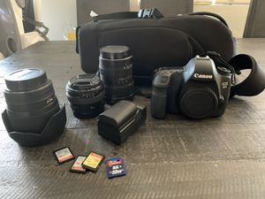 Canon EOS 6D • Sigma 28mm 1.8 • Tokina 12-24mm 4.0 • Canon 50mm 1.4 for Sale in Chandler, AZ