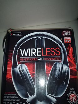 Sentry wireless headphones with transmitter for Sale in Hillsboro,  OR
