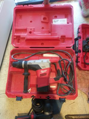 "MILWAUKEE 5317-21 SDS MAX ROTARY HAMMER KIT 1 9\16"" LIKE NEW COMO NUEVO👌💥👌🔥👌🔥 for Sale in Torrance, CA"