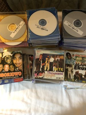 African CD's, DVD's, VCD's collection of 100 for Sale in Manassas, VA